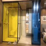 黄色透明夹胶玻璃 彩色夹胶玻璃 隔断彩色钢化玻璃 广州