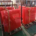 彩色夹胶玻璃幕墙玻璃隔断玻璃厂家供应