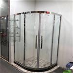卫浴钢化玻璃 实力厂家定制高品质酒店卫浴玻璃 淋浴房玻璃