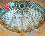厂家定制教堂玻璃彩绘玻璃