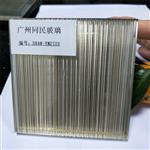 广州夹丝玻璃 夹绢玻璃 钢化夹丝夹绢玻璃 不锈钢屏风夹丝玻璃