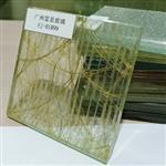夹丝玻璃隔断夹丝玻璃贴图广州富景夹丝玻璃供应