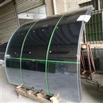 佛山玻璃幕墙生产厂家 供应钢化/中空/弯钢/夹层幕墙玻璃