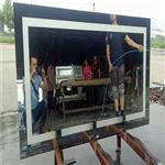玻璃银镜工厂定做加工喷砂镜片led放光镜子雕刻触摸开关
