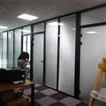 北京办公楼钢化玻璃隔断墙 12mm厚
