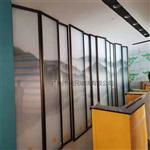 夹山水画玻璃 园林专用山水画钢化玻璃 屏风山水画玻璃广州