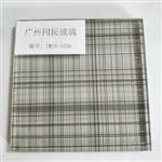 广州夹丝玻璃厂家 夹丝玻璃隔断 5+5夹丝钢化玻璃价格