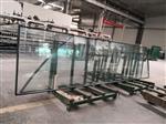 建筑幕墙玻璃6+12A+6双钢化玻璃制作安装