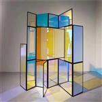 广州炫彩玻璃厂家 钢化炫彩玻璃 幻彩玻璃价格