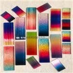 广州同民供应彩色渐变玻璃 多色渐变玻璃 彩色玻璃