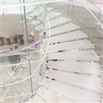 超市地板玻璃透光防滑玻璃花纹