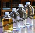 100ml玻璃瓶小饮料店外卖罐密封酒瓶扁子奶茶打包网红带盖