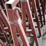 二手玻璃架子 L架 翻新磨边机 回收架子磨边机