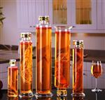 厂家直销高硼硅玻璃泡酒瓶泡参瓶2斤3斤4斤家用人参泡酒玻璃瓶