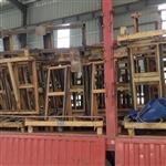 佛山|广东二手玻璃架子 L架 大板架 回收二手玻璃架子