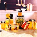 批发玻璃酱菜瓶蜂蜜瓶高白料200ml500ml1000ml