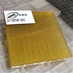 广州|新骏驰玻璃厂奢华立体夹丝玻璃 艺术夹绢丝玻璃 双钢化防爆