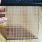 广州|广州夹丝玻璃 格子夹丝玻璃 单片5厘夹丝玻璃