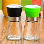 玻璃瓶厨房调味瓶研磨器胡椒粉瓶