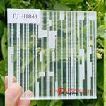 广州富景玻璃夹丝玻璃定制艺术玻璃生产