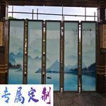 哪里有夹丝夹绢装饰玻璃 艺术玻璃直销 支持定制背景墙屏风玻璃