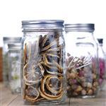 徐州 批发茶叶罐透明玻璃储物罐