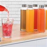 500ml玻璃透明饮料瓶