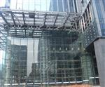 15mm/19mm超长超大平弯钢化玻璃吊挂玻璃幕墙