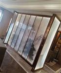 莱州市山水画夹丝玻璃