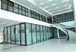 厂家直销铝型材隔断玻璃隔断单玻隔断铝型材单玻拼缝隔断单玻简约隔断