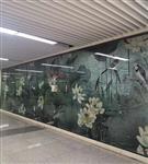 莱州市艺术玻璃隔断墙