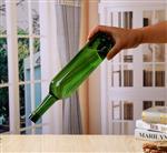 墨绿色红酒瓶 墨绿色玻璃瓶