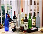 00ml玻璃酒瓶玻璃包装容器印LOGO喷色红酒瓶洋酒瓶直筒果醋酒瓶