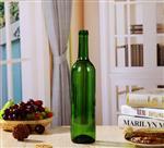 厂家直销 墨绿色葡萄酒瓶 空酒瓶375ml 自酿酒瓶 玻璃红酒瓶