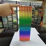渐变色夹胶玻璃 隔断装饰安全夹胶渐变玻璃广州同民生产厂家