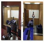 学校录播室单向透视玻璃单面反射玻璃单反玻璃厂家