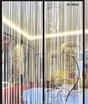 透明夹丝玻璃 夹丝夹绢玻璃生产商商家