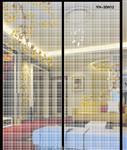 夹丝玻璃 夹丝玻璃隔断 夹丝玻璃屏风