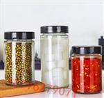 食品级透明密封罐辣椒酱菜瓶
