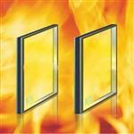 8mm防火玻璃 厂家定做 单片门窗防火玻璃 防火2小时证书其全