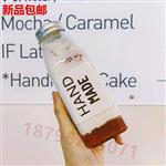 生产方饮料瓶网红奶茶果汁玻璃瓶厂家