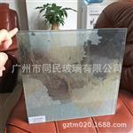 夹山水画玻璃 装饰山水画玻璃 加工定制