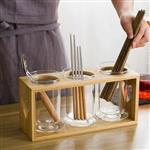玻璃筷子架