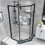 淋浴房玻璃 钢化玻璃 卫浴玻璃 透明 10mm