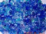 湖蓝混合压件珠