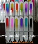 玻璃指甲锉蒙砂剂