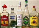 各种洋酒瓶
