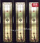 彩色镶嵌玻璃古老绘画技艺彩色镶嵌玻璃圆博工艺