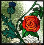 彩绘屏风玻璃 彩色吊顶玻璃 欧式镶嵌玻璃 教堂穹顶玻璃