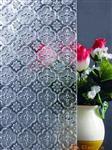海棠花等压花玻璃